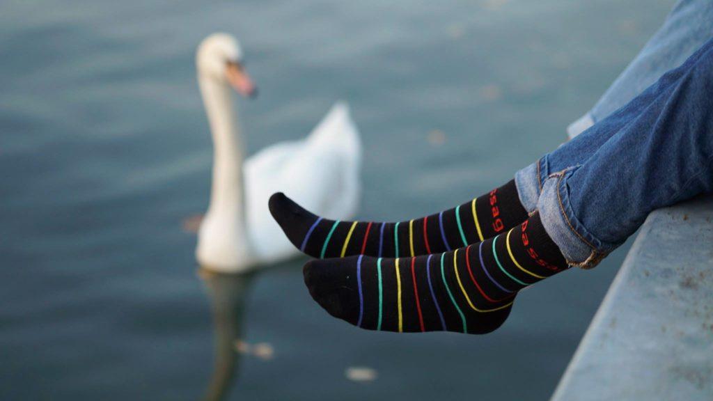 Safe passage socks