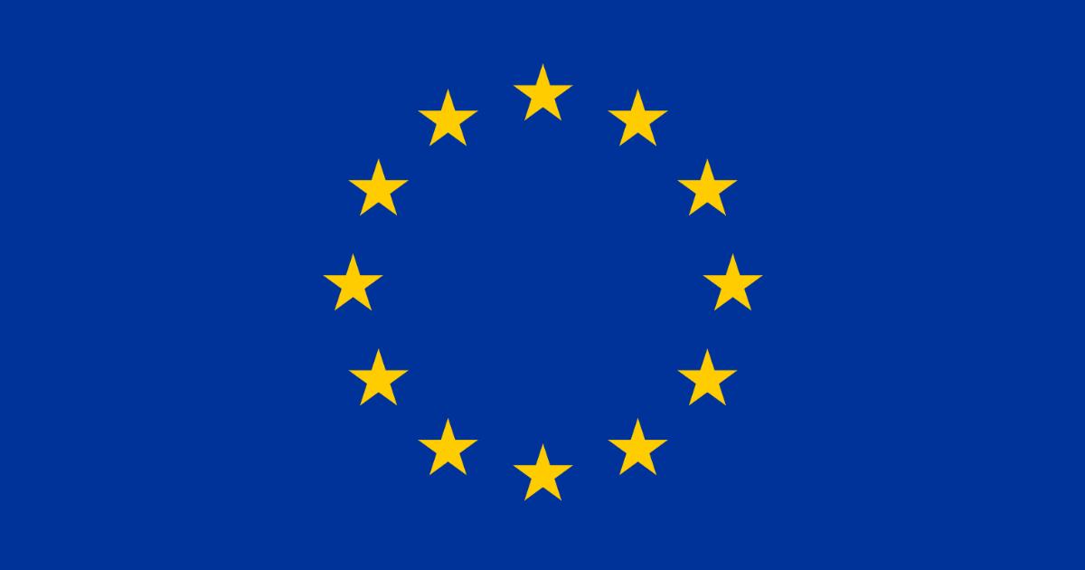 European Union flag work
