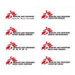 MSF Médecins Sans Frontières Doctors Without Borders logo header humanitarian designers
