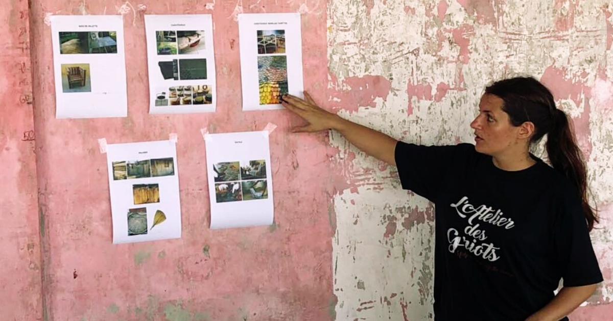 Caroline Grellier profile picture l'atelier des griots benin humanitarian designers