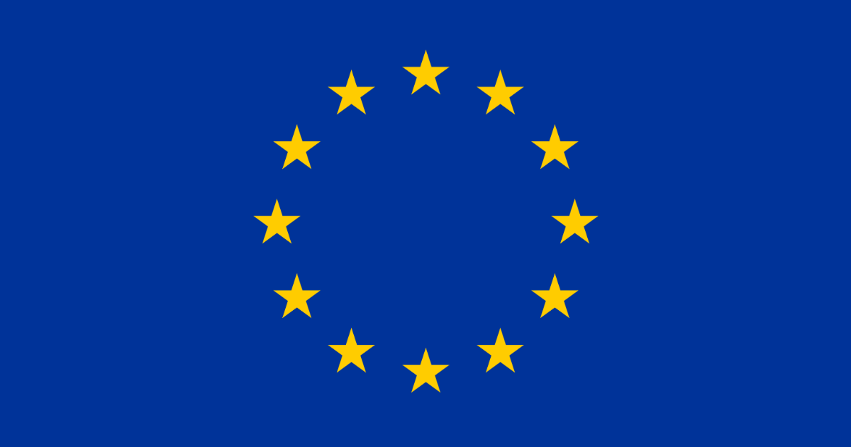 European Union flag work